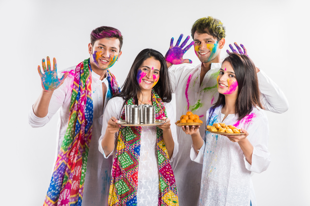 holi tradition in india